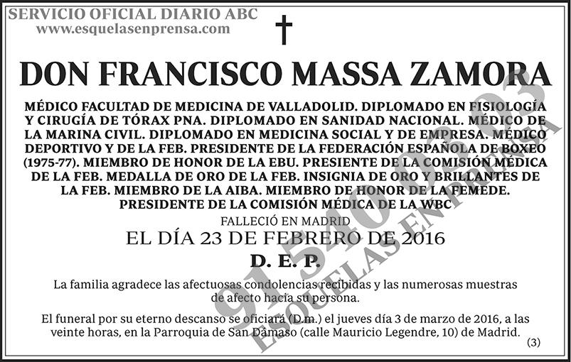 Francisco Massa Zamora